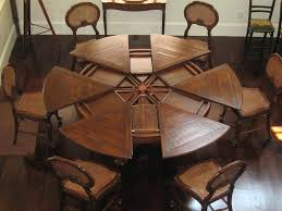 interesting rustic round dining table dining tables marvellous rustic round dining table for 8 large round