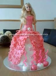 Coolest Barbie Doll Birthday Cake Design