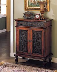 small hall furniture. meda brown cherry hallway accent chest small hall furniture