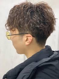 メンズマッシュパーマungu Hair Labo所属ryujiajikiのヘアカタログ