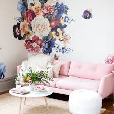Small Picture Vintage Floral Wall Decals Urban Walls