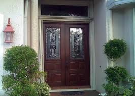 Plain Painted Residential Front Doors Modern And Door With Concept Ideas