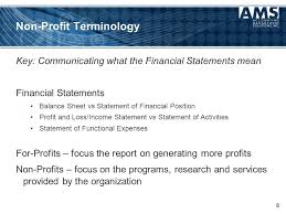 "How To Get Your Board ""Onboard"" With Non-Profit Financial Statements ..."