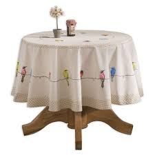 maison d hermine birs on wire 100 cotton tablecloth 69 inch round