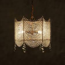 square clear crystal chandelier lighting french pendant lamp for girls room bedroom