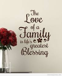 family quote with flowers wallpaper
