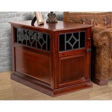 dark mahogany furniture. American Furniture Dark Mahogany Wood/Metal Dog Crate \u0026amp; Dark Mahogany Furniture T