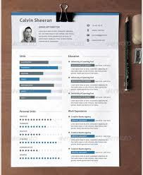 Interesting Resume Templates 69 Images 28 Minimal Creative