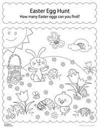 Disegni Di Pasqua Da Colorare E Per Giocare I Coniglietti