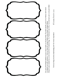 Recipe Labels Templates Pantry Jar Label Templates For Free Recipe Tag Template C