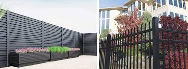 aluminium fence supplier residential