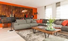 Decoratie Woonkamer Geel Amazing Verdieping Uitzicht Huis Kantoor