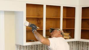 Painting Inside Kitchen Cabinets Simple How To Paint Kitchen Cabinet Boxes Today's Homeowner