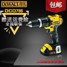 dewalt flashlight 18v. get quotations · dewalt power tools lithium cordless impact drill screwdriver dcd785 18v flashlight pistol 18v t