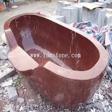 china red marble stone spa tub hot tub marble baby bath tub stone baby bathing