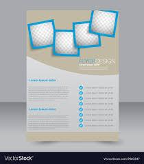 Editable Flyer Template Brochure Design Flyer Template Editable A4 Poster