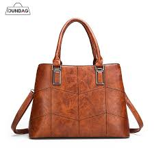 autumn winter patchwork bag patterns pu leather women handbags luxury brand shoulder bag las large casual tote bolsos femme leather bags for men evening