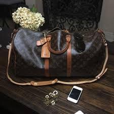louis vuitton overnight bag. sold: louis vuitton keepall bandouliere 55 weekend overnight bag