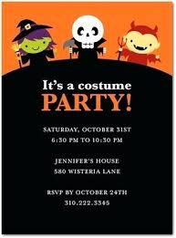 Awe Inspiring Halloween Costume Party Invitations Party Invite