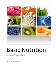 Vegan Nutrition Chart Pdf Basic Nutrition Pdf