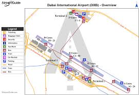 Dubai Airport Charts Dubai International Airport Omdb Dxb Airport Guide