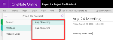 Onenote 2010 Project Management Templates 10 Ways To Use Onenote For Project Management Sharepoint Maven