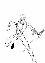 Small Picture Awesome GI Joe Member Snake Eyes Coloring Pages Batch Coloring