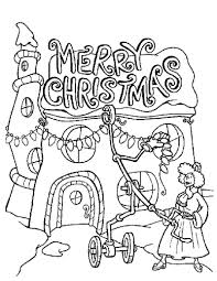 Christmas Lights Coloring Page Source Sb3 The Grinch Pages