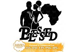 • 1 svg cut file for cricut, silhouette designer edition and more • 1 png high resolution 300dpi • 1 dxf for free version of silhouette cameo • 1 eps vector file for adobe illustrator, inkspace, corel draw and more. Black Couple Svg Blessed Svg Wedding Svg File 535111 Cut Files Design Bundles
