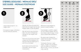 Size Chart And Guide Wenaas Workwear As