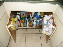 Under Kitchen Sink Organizing Under Kitchen Sink Storage Ikea Dark Wood Kitchen Cabinets Quartz
