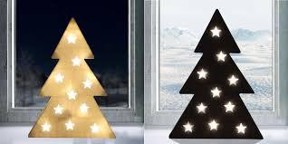 Led Dekotanne 37cm Weihnachtsbaum Weihnachtsdeko Fensterdeko Hologramm Effekt