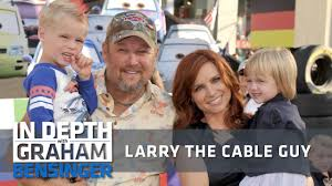larry the cable guy wife. Unique Guy Larry The Cable Guy Marriage Changed My Jokes On The Guy Wife A
