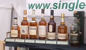Classic Malts Display Stand