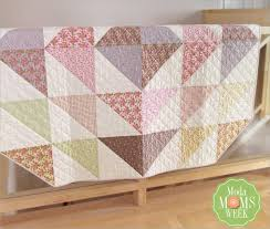 392 best Precut Quilts images on Pinterest | Quilting patterns ... & Bloomin' Throw Tutorial - layer cake Adamdwight.com