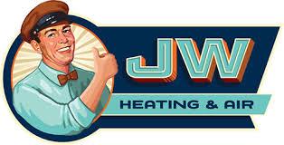 heating and air logo. jw heating and air, inc. air logo g