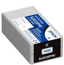 <b>Epson</b> TM-C3500 Black <b>Ink</b> Cartridge <b>SJIC22P</b>(K) + ColorWorks ...