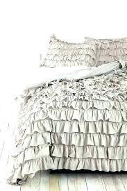 ruffle quilt set white ruffle quilt comforter set best bedding ideas on bedspread and luxury duvet