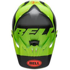 Bell Full 9 Fusion Helmet Matte Green Black Crimson