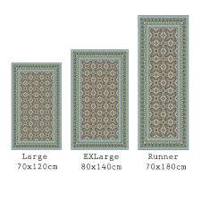 Vinyl Kitchen Floor Mats Blue Mosaic Vinyl Flooring All About Flooring Designs