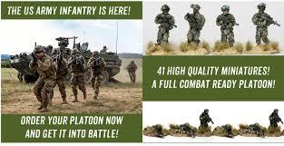 Us Army Platoon Usar001b Us Army Light Infantry Platoon Bundle