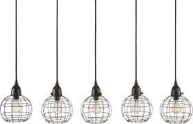 attractive multi pendant light fixtures lazy susan 225064 five wire ball retro black multi ceiling pendant