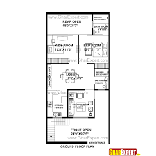 144 Square Feet House Plan For 25 Feet By 53 Feet Plot Plot Size 147 Square Yards