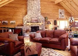 Log Cabin Living Room Cool Par Log Cabin Living Room Designs Decorations Style With Hunting