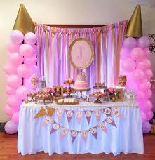 Pink And Gold Princess Birthday Party | Princess birthday, Cake ...