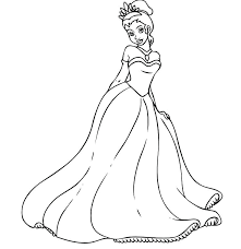 princess tiana printable coloring pages page best free for gallery of di