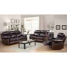 contemporary 3 piece living room set fresh breakwater bay oliver leather 3 piece living room set