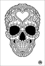 Free Colouring Page Coloring Adult Tatouage
