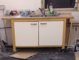ikea varde freestanding kitchen sink unit with tap and
