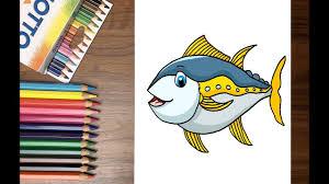 Dạy bé tập vẽ con cá thu